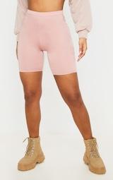 Basic Dusty Rose Bike Shorts 2