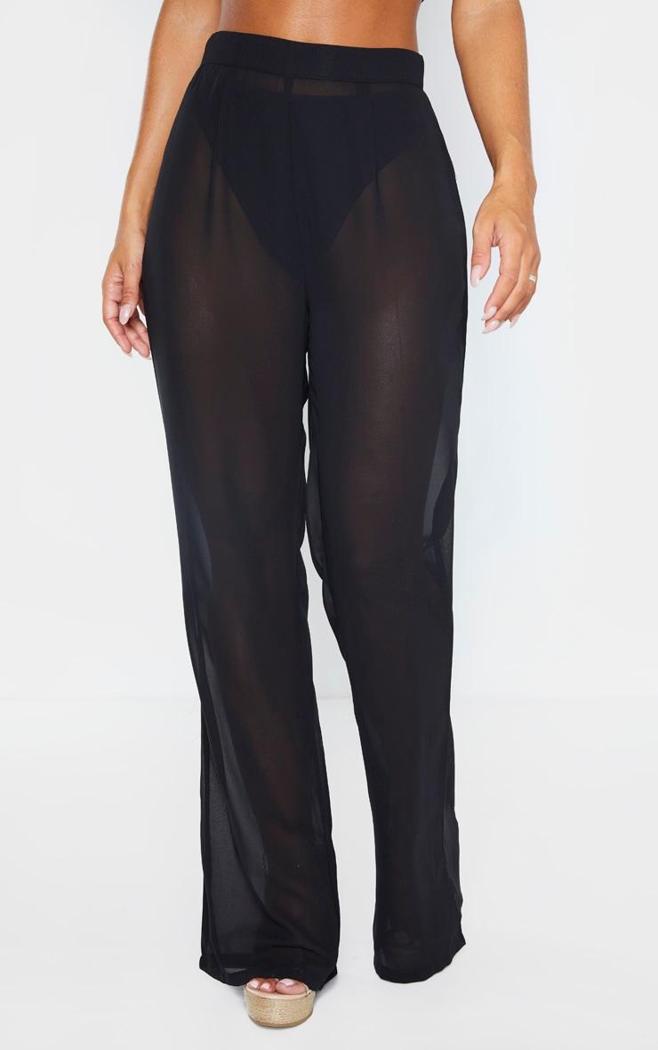 Black Beach Pants 2