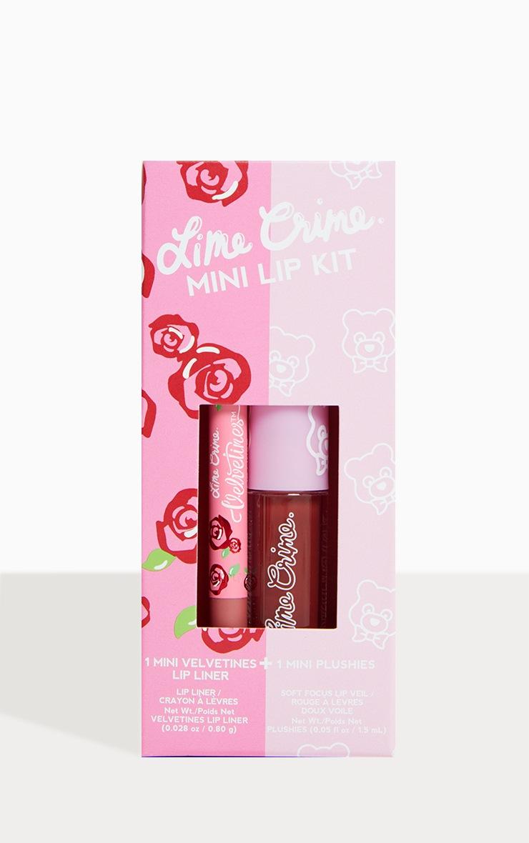Lime Crime Mini Lip Kit Red 1