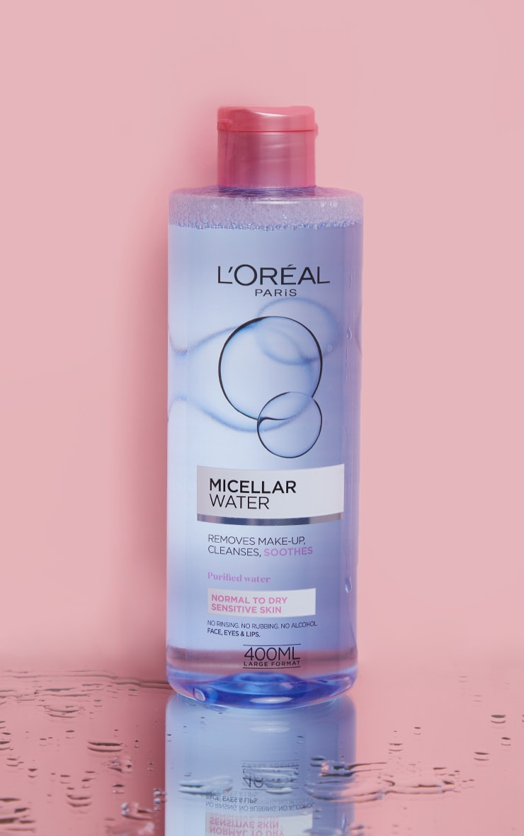 L'Oreal Paris Micellar Water Makeup Remover for Normal to Dry Skin  1