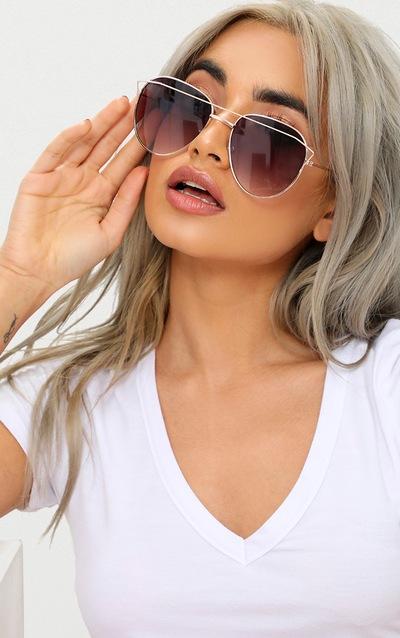 d5d0e50a2f Black Aviator Sunglasses