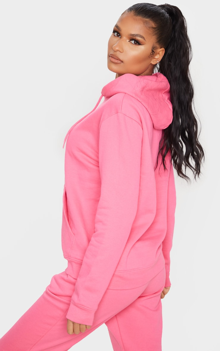 Candy Pink Ultimate Oversized Hoodie 2