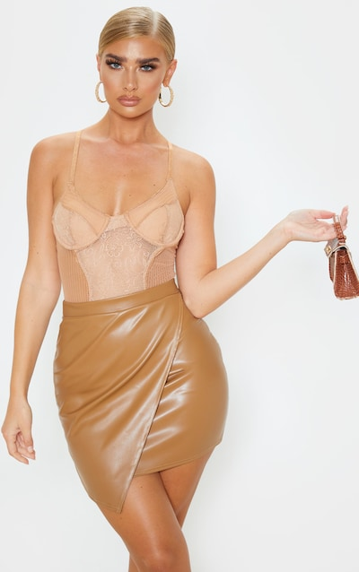 0bc88789dfd87 Faux Leather   Dresses, Skirts & Jackets   PrettyLittleThing