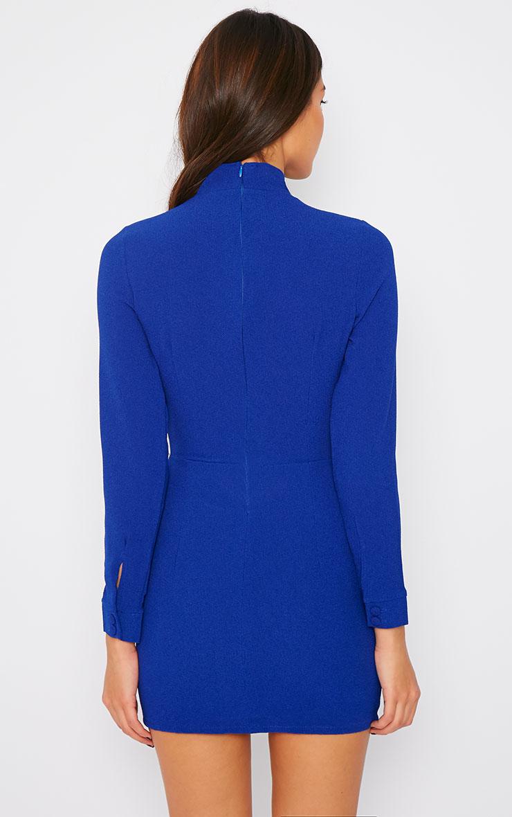 Edie Cobalt Cut Out Dress 2