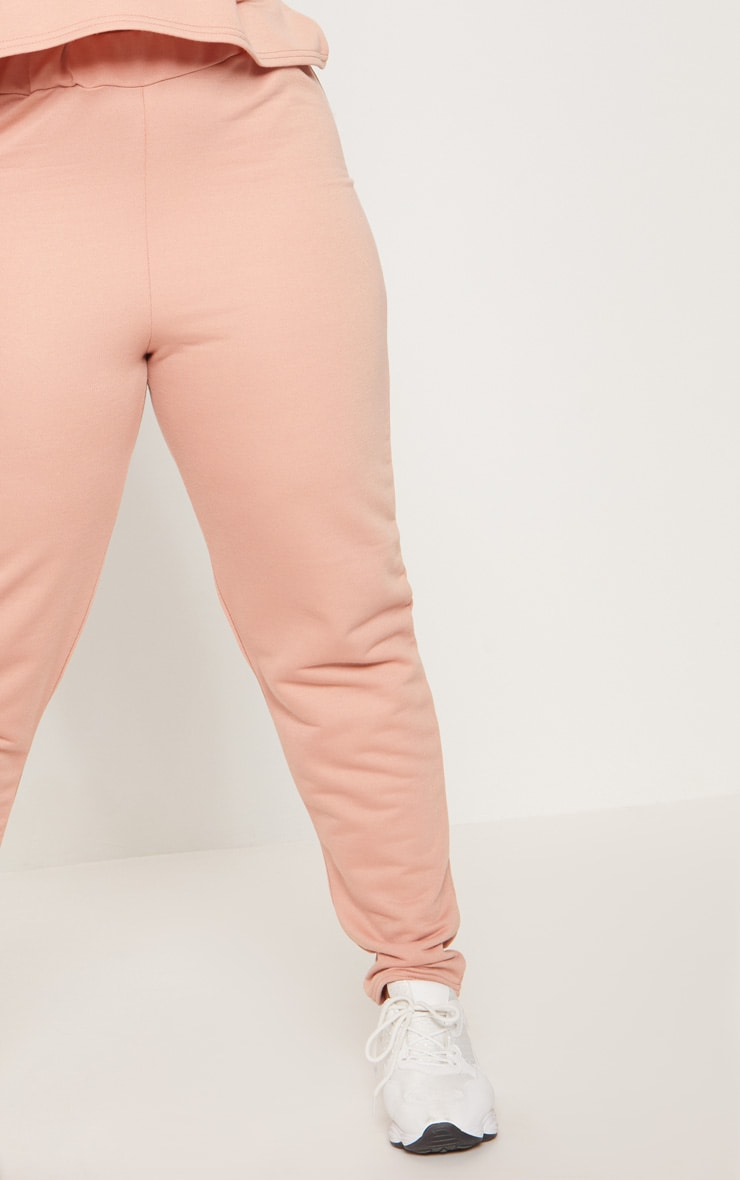 Plus Dusty Coral Joggers 5