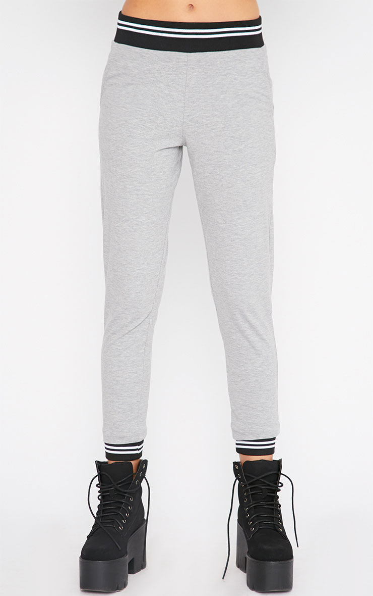 Scarlett Grey Sports Trim Leggings 4