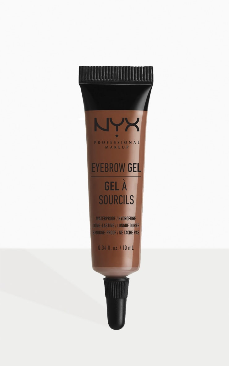 NYX Professional Makeup Eyebrow Gel Chocolate 1