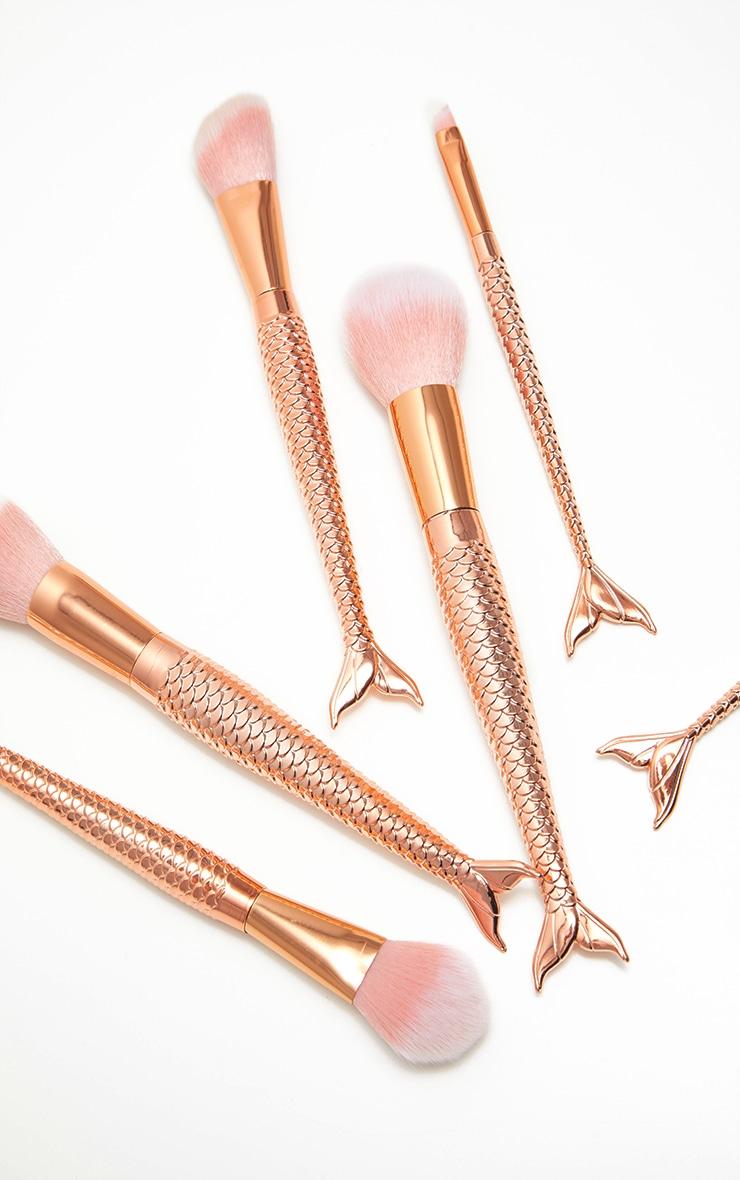 Rose Gold 6 Pack Make Up Brushes 1