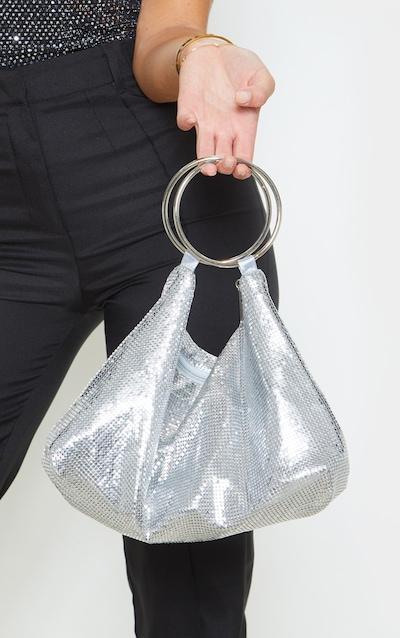 Silver Chain Mail Ring Detail Grab Bag