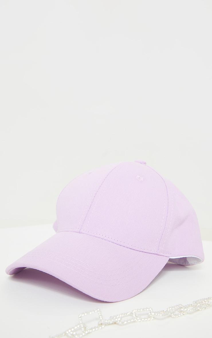 Lilac Baseball Cap 1