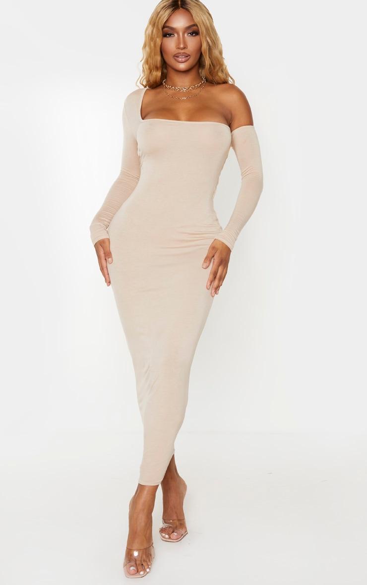 Shape Stone Jersey Bardot Maxi Dress 1