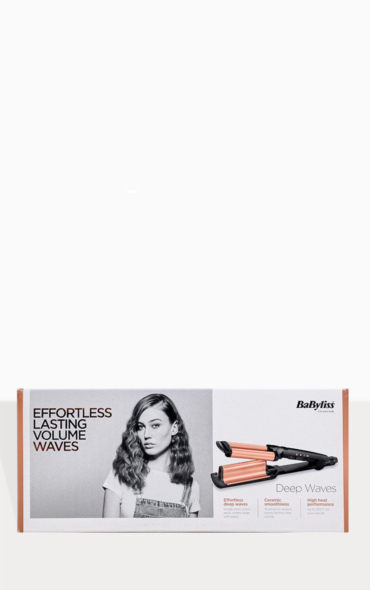 BaByliss Deep Waves Hair Curler 4