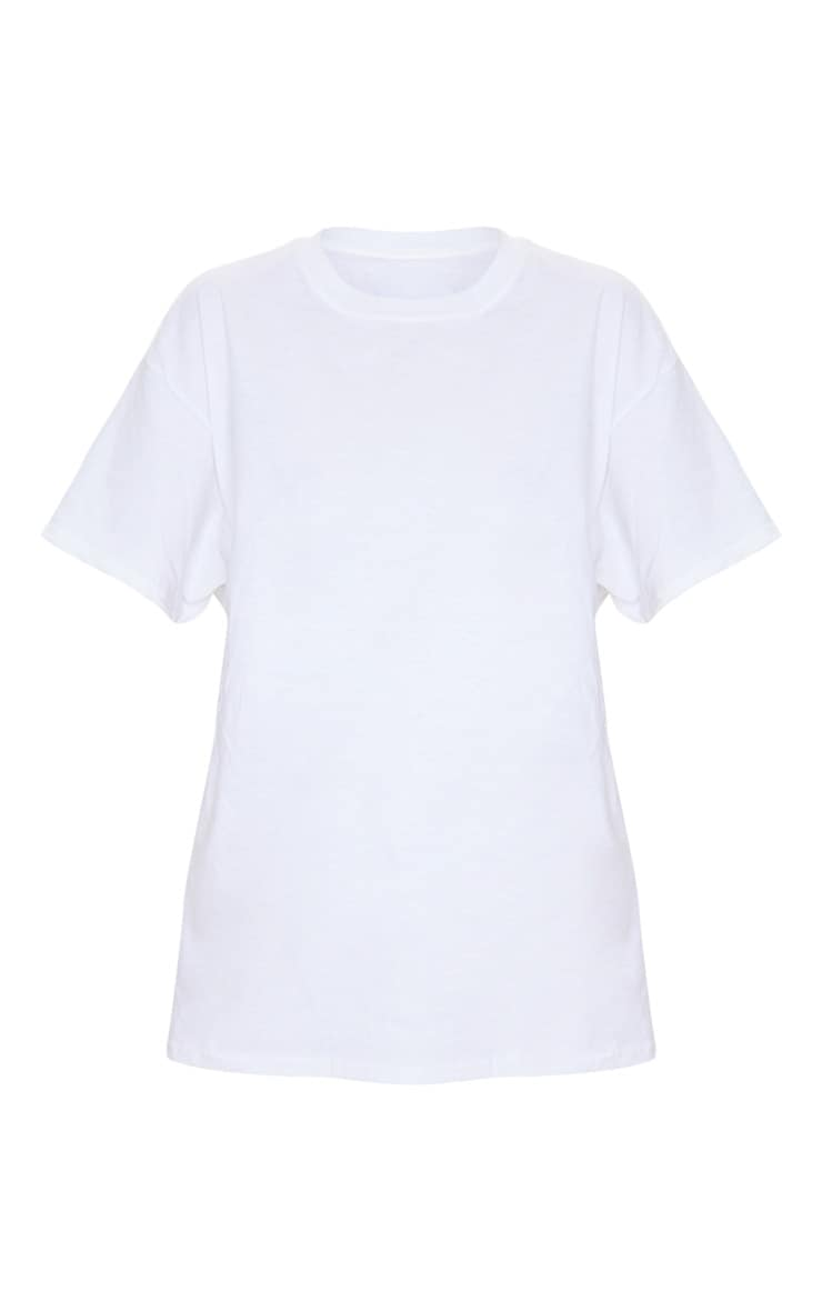 White Boyfriend T Shirt 5