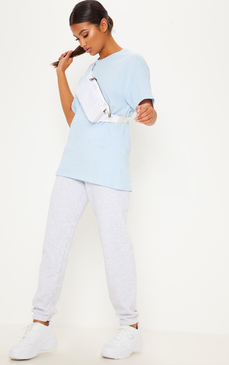 Light Blue Boyfriend T Shirt 4
