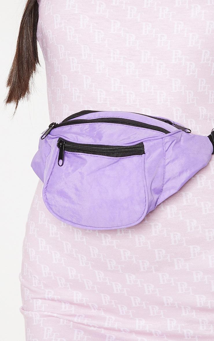 Purple Small Bum Bag 3