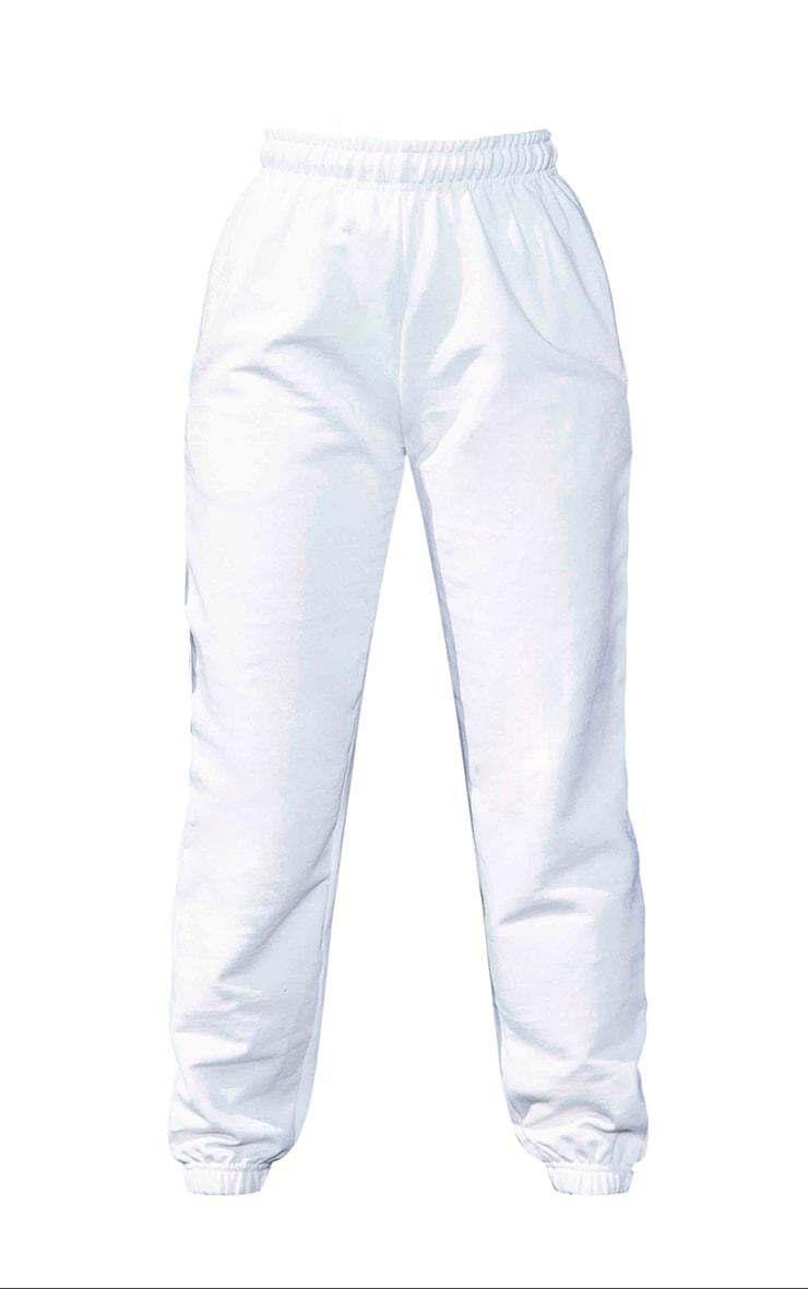 Petite White Casual Joggers 5