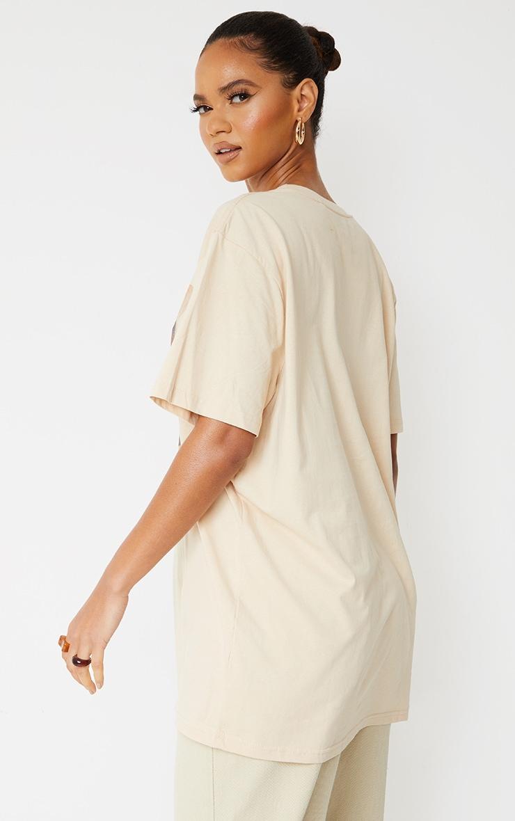 Sand TLC Photographic Print T Shirt 2