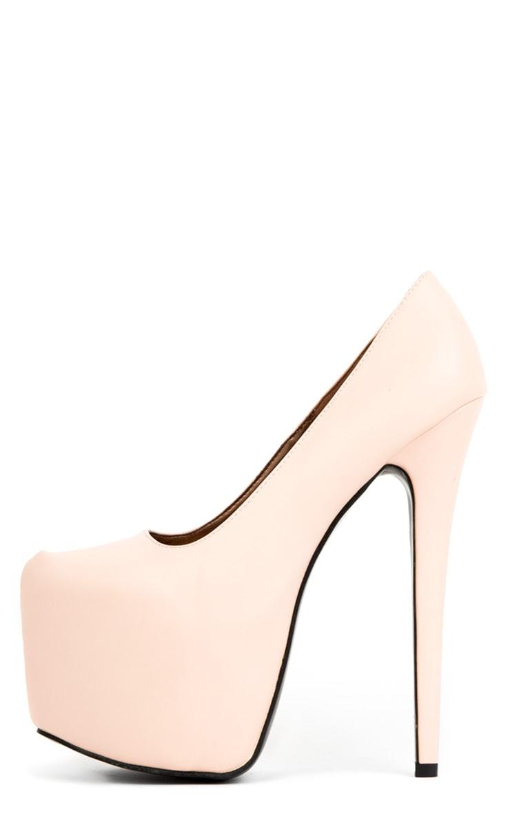 Ami Baby Pink Stiletto Heels 1