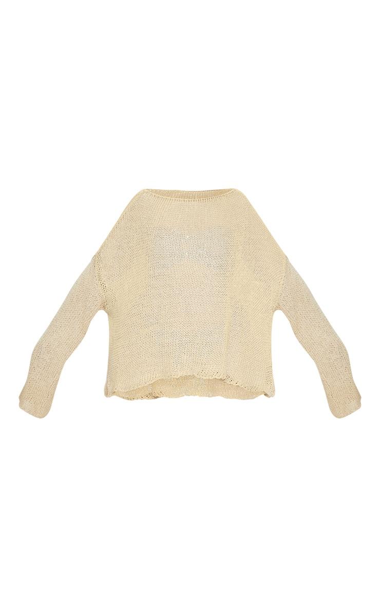 Plus Stone Fisherman Knit Sweater 5
