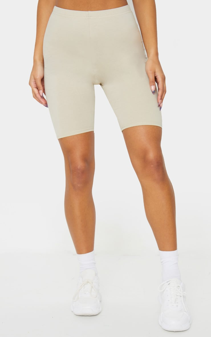 Sand Cotton Stretch Cycling Shorts 2