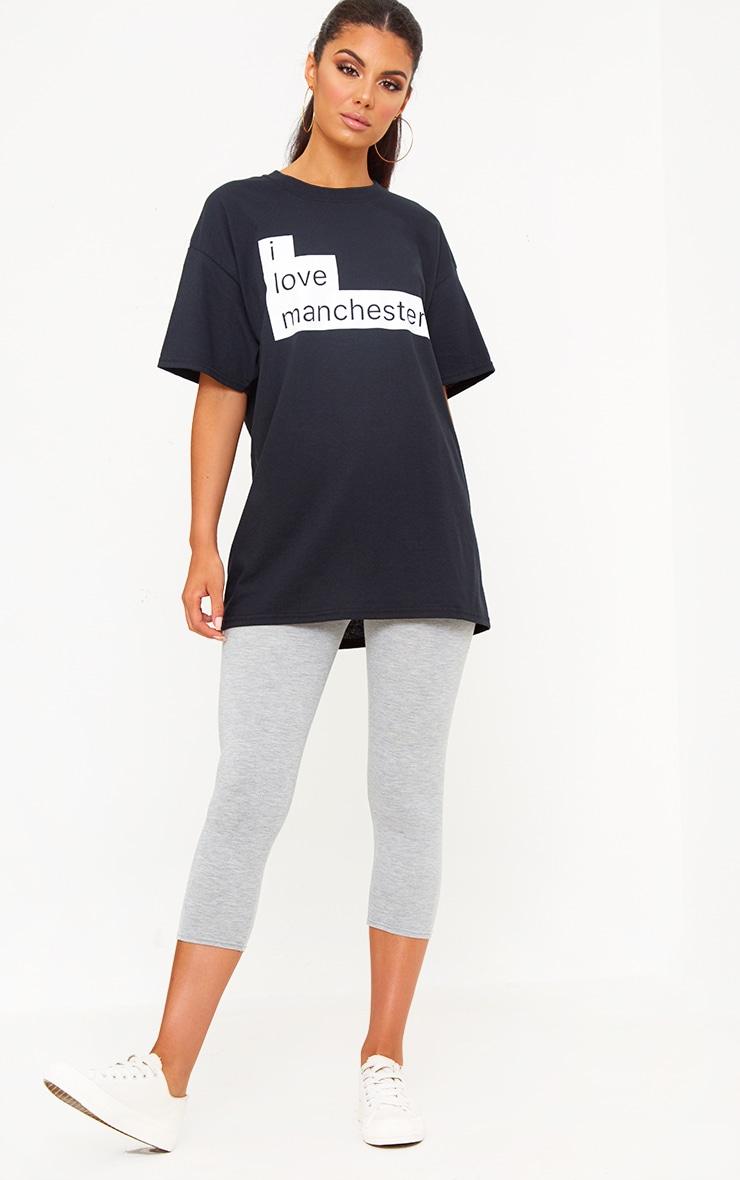 Charity Black I Love Manchester T Shirt 3