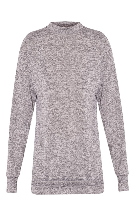 Dannie Grey Long Sleeve Tracksuit Sweatshirt 3