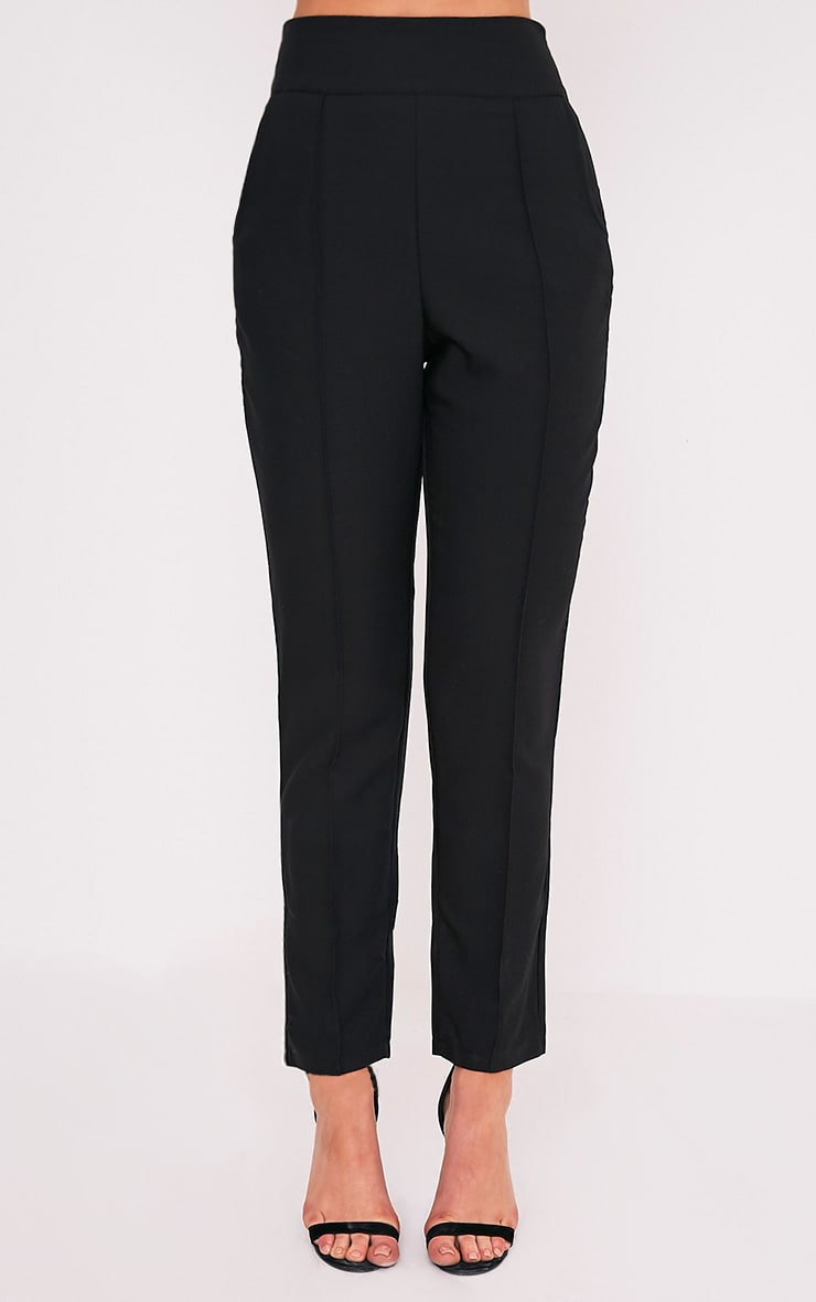 Wendy Black Front Seam Trousers 3