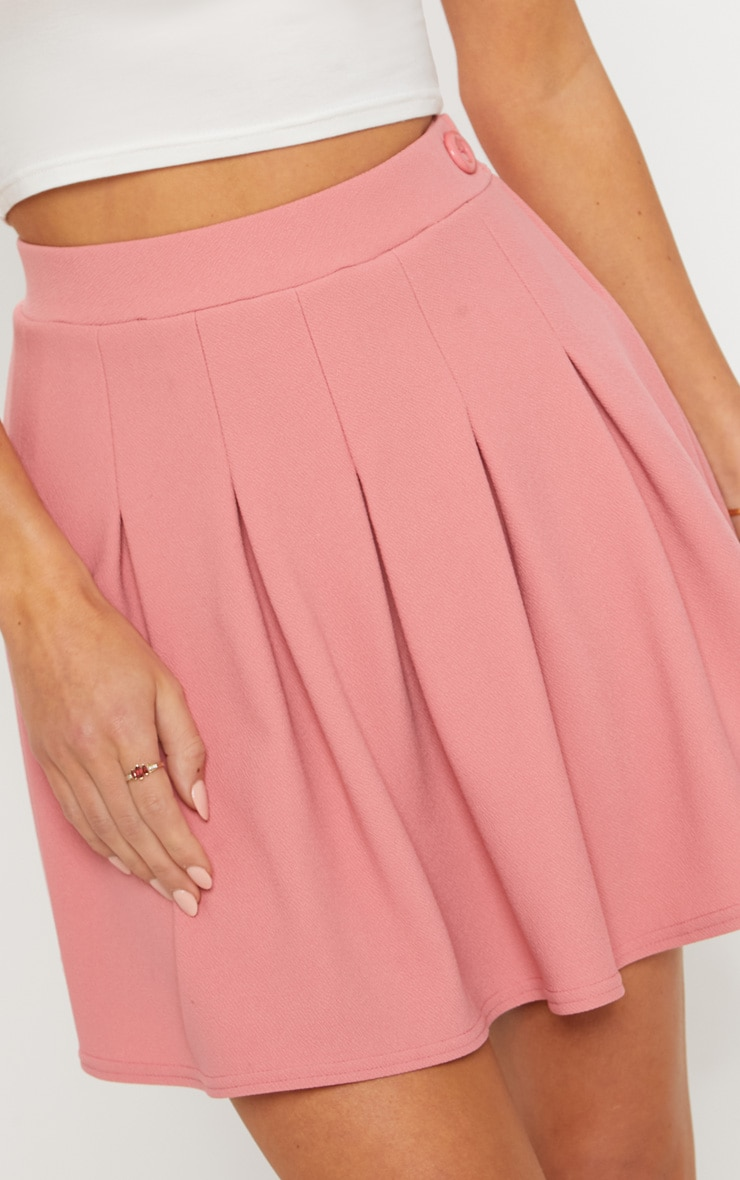 Blush Pleated Tennis Skirt 6