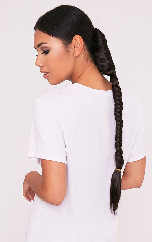 Dark Brown Fishtail Plait Extension 1