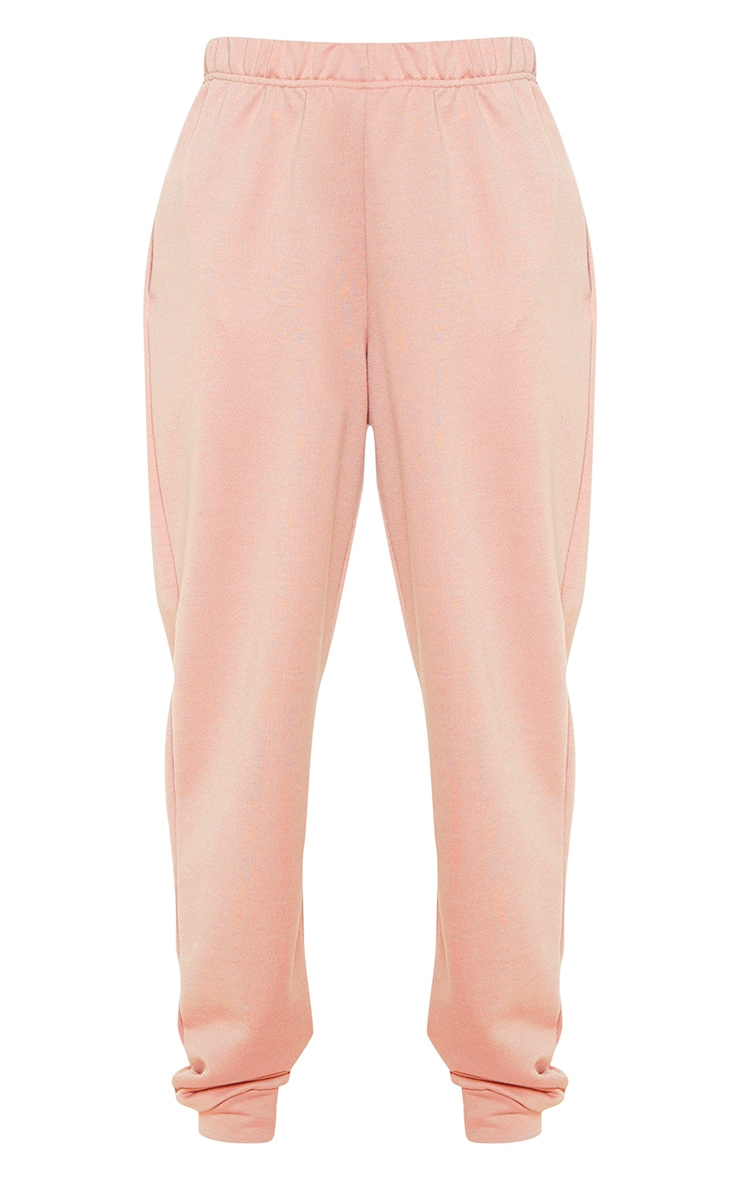 Petite Dusty Pink Casual Track Pants 4
