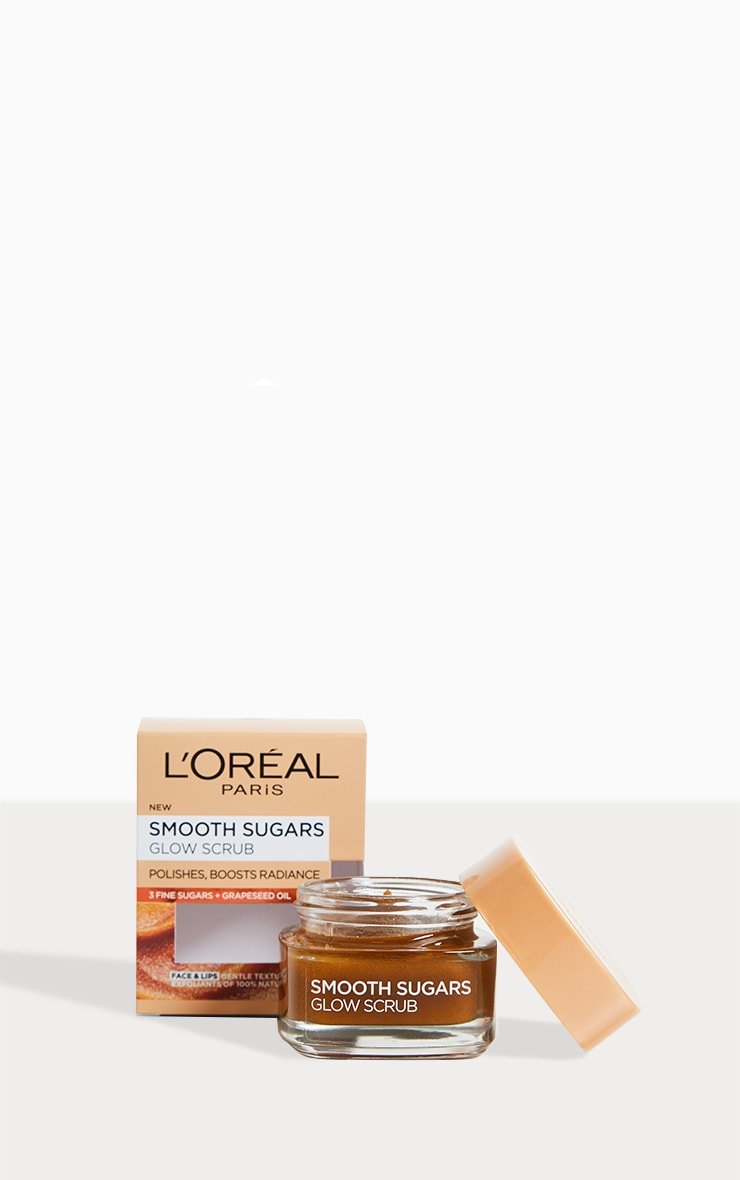 L'Oréal Paris Smooth Sugar Glow Face & Lip Scrub 1
