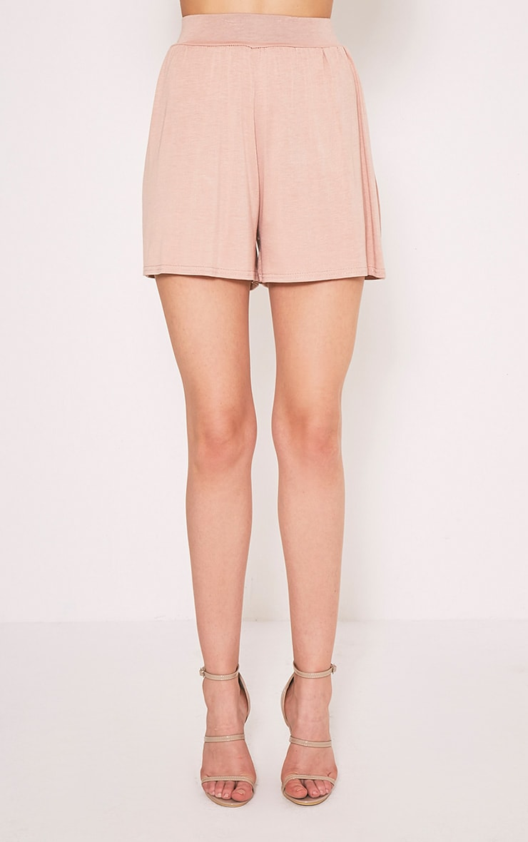 Lucilla Nude Jersey Floaty Shorts 2
