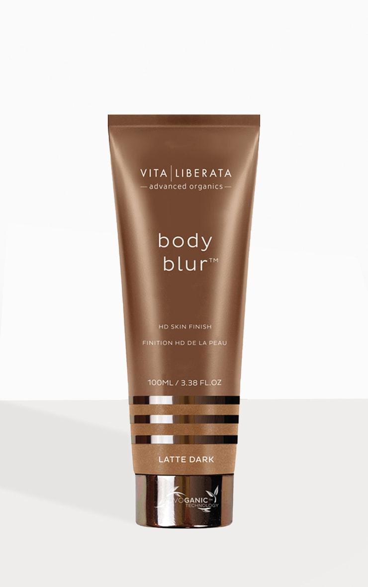 Vita Liberata Body Blur Instant HD Skin Finish Latte Dark 100ml 1