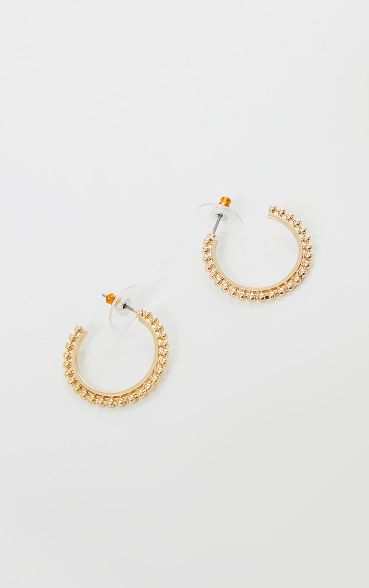 Gold Assorted Three Pack Hoop Earrings 2