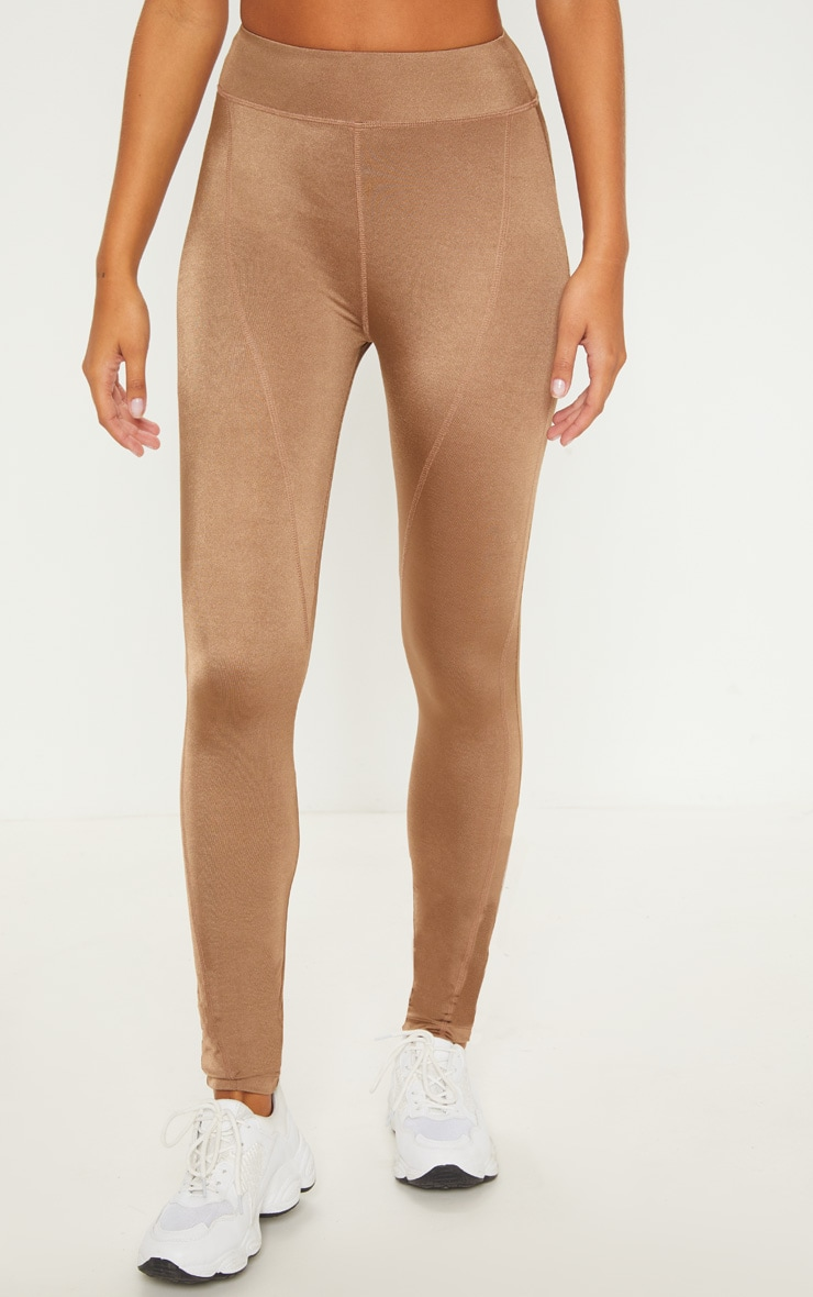 Mocha High Waisted Sports Legging 2