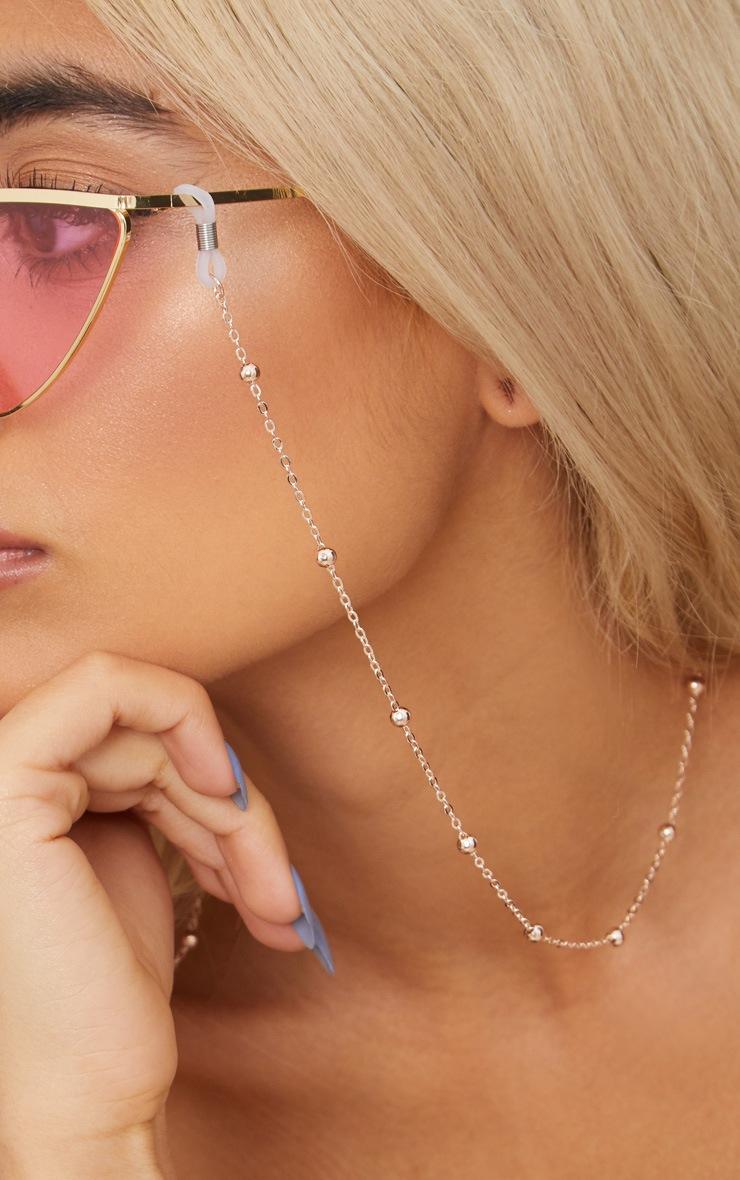 Rose Gold Beaded Sunglasses Chain 2