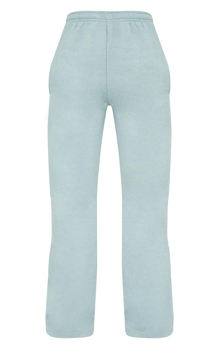 Blue Wide Leg Joggers 5