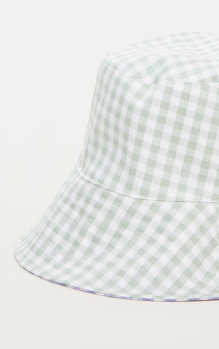 Lilac Reversible Bucket Hat 2