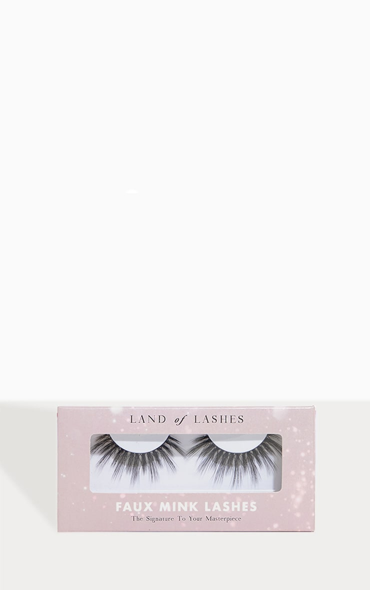 Land of Lashes Honey Invisible Band False Lash