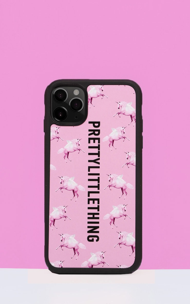PRETTYLITTLETHING Unicorn Pink iPhone 11 Pro Case 1
