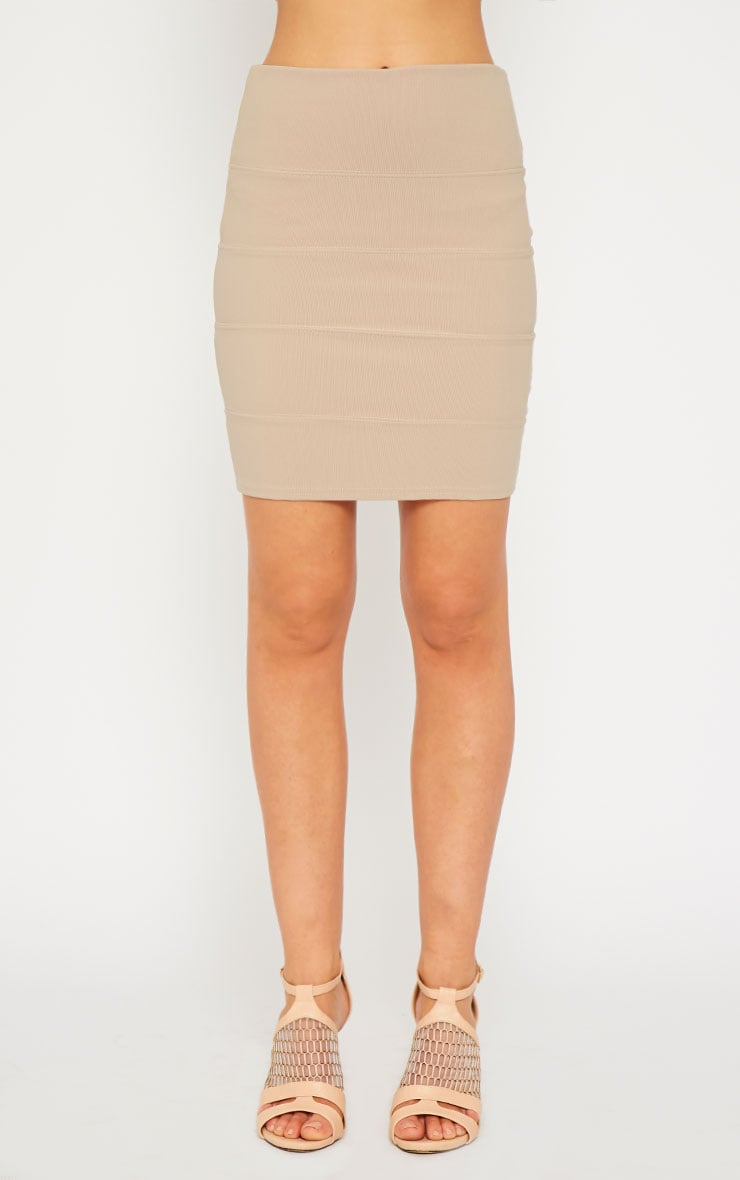 Anel Stone Bandage Mini Skirt  2