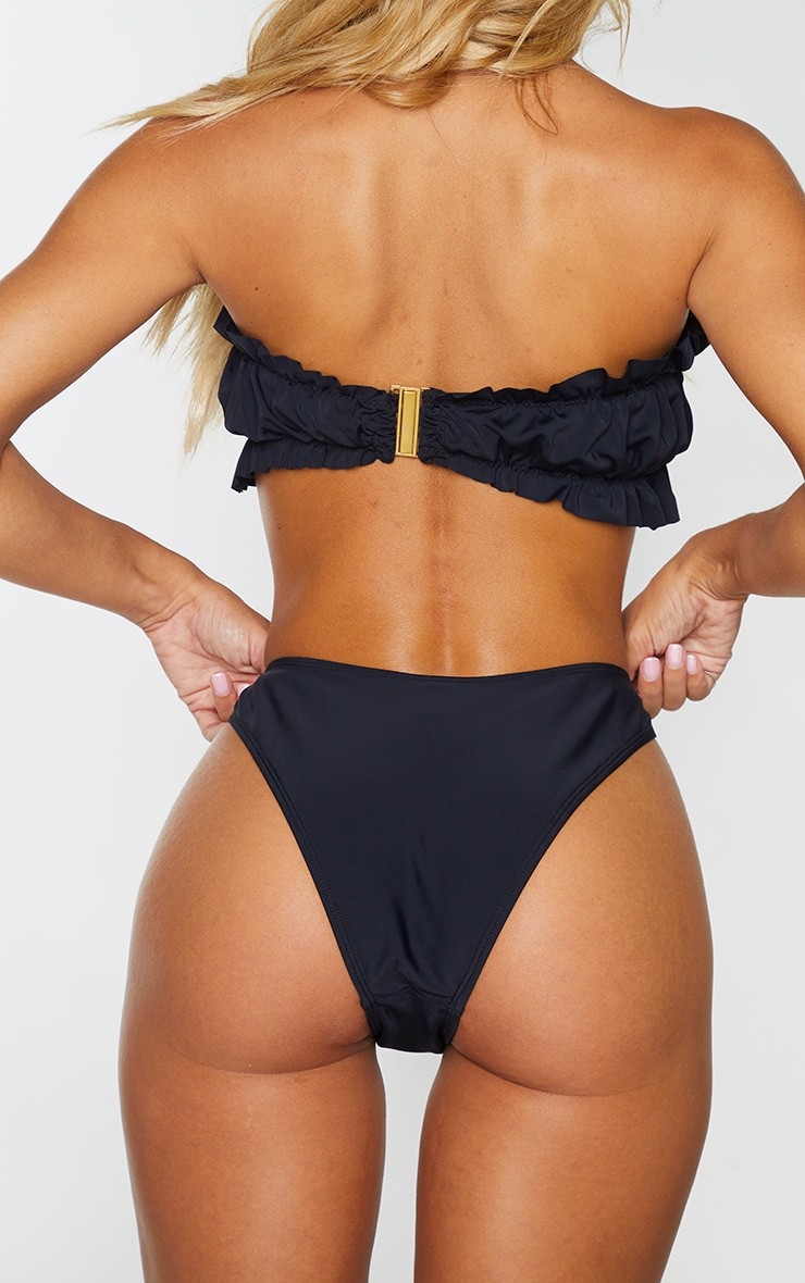 Black Brazillian Bikini Knickers 3