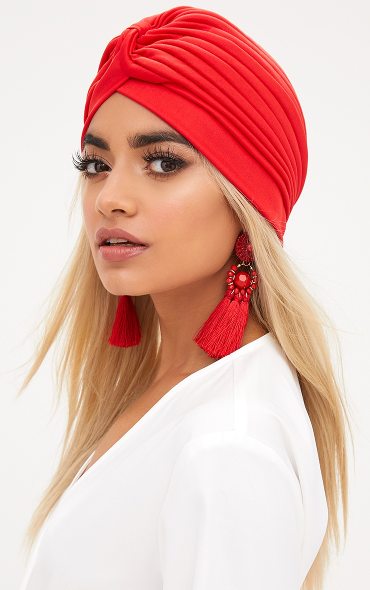 Red Knotted Hat 2