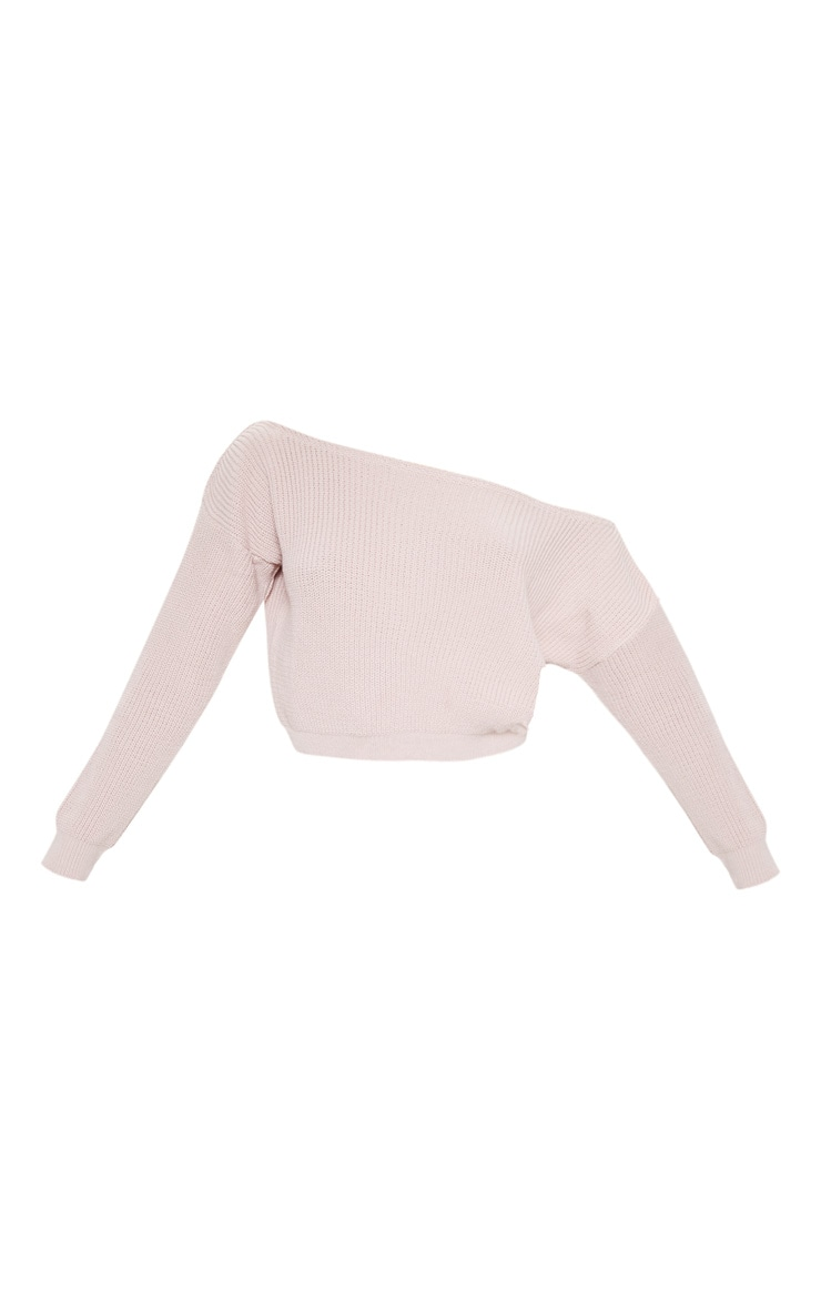 Blush Off Shoulder Sweater 3