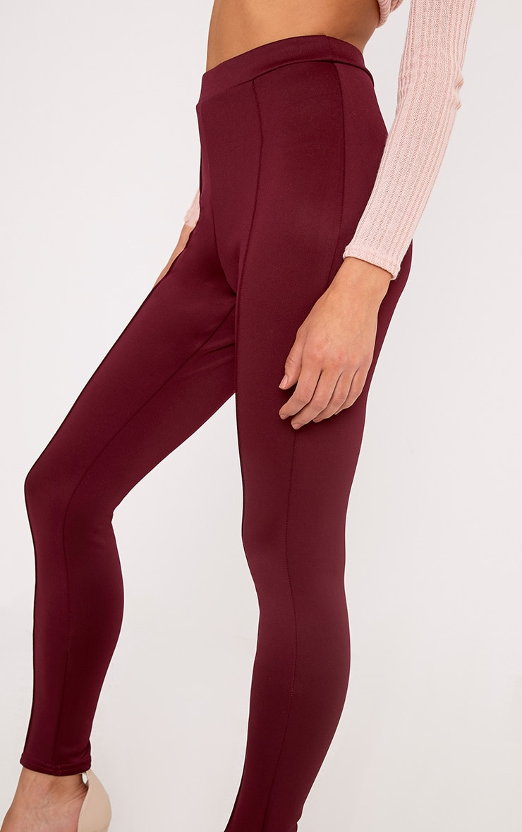 Larena Berry Front Seam Skinny Trousers 5
