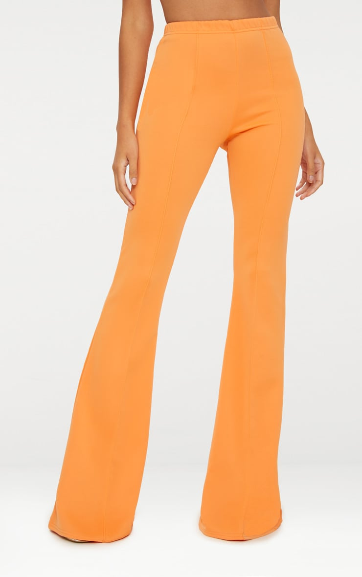 Tangerine High Waist Extreme Flare Long Leg Pants 2