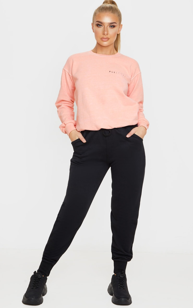 PRETTYLITTLETHING Peach Sports Sweat 4