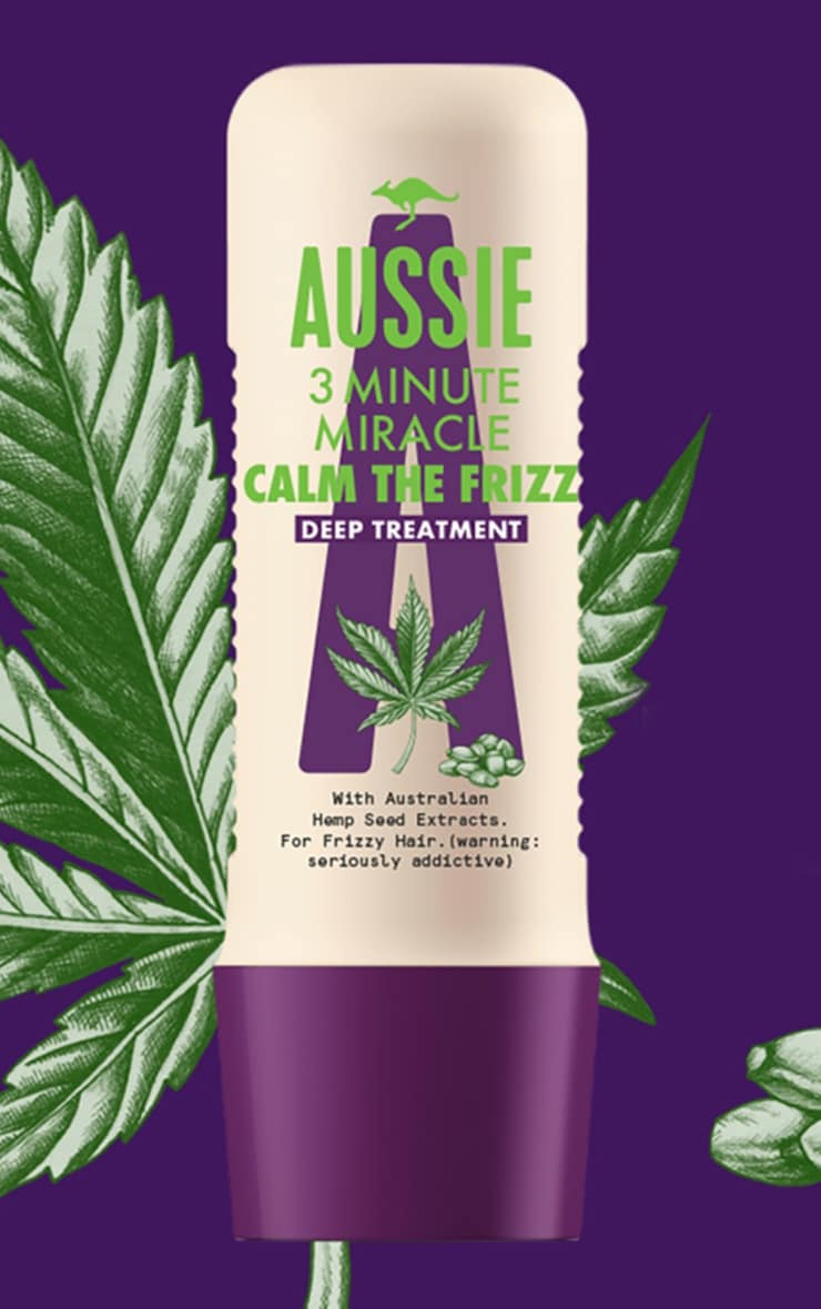 Aussie Calm the Frizz Hemp 3 Minute Mask 250ml 1