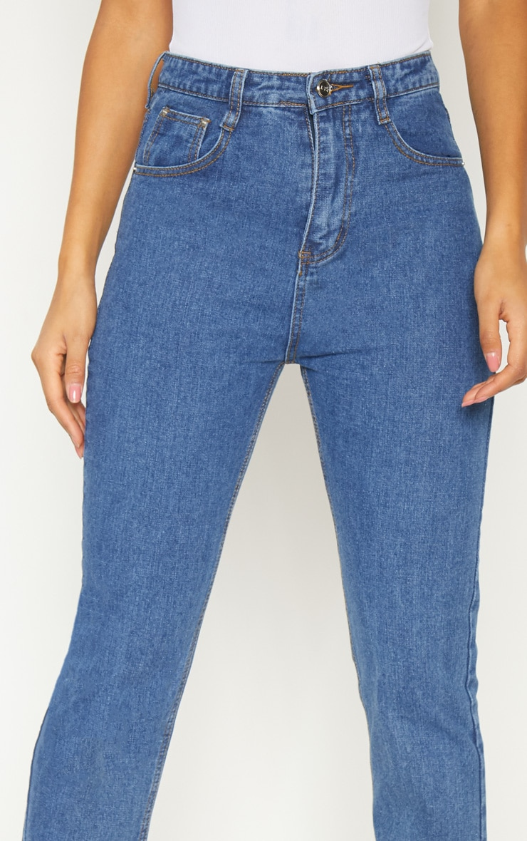 Dark Wash  Mom Jean  5