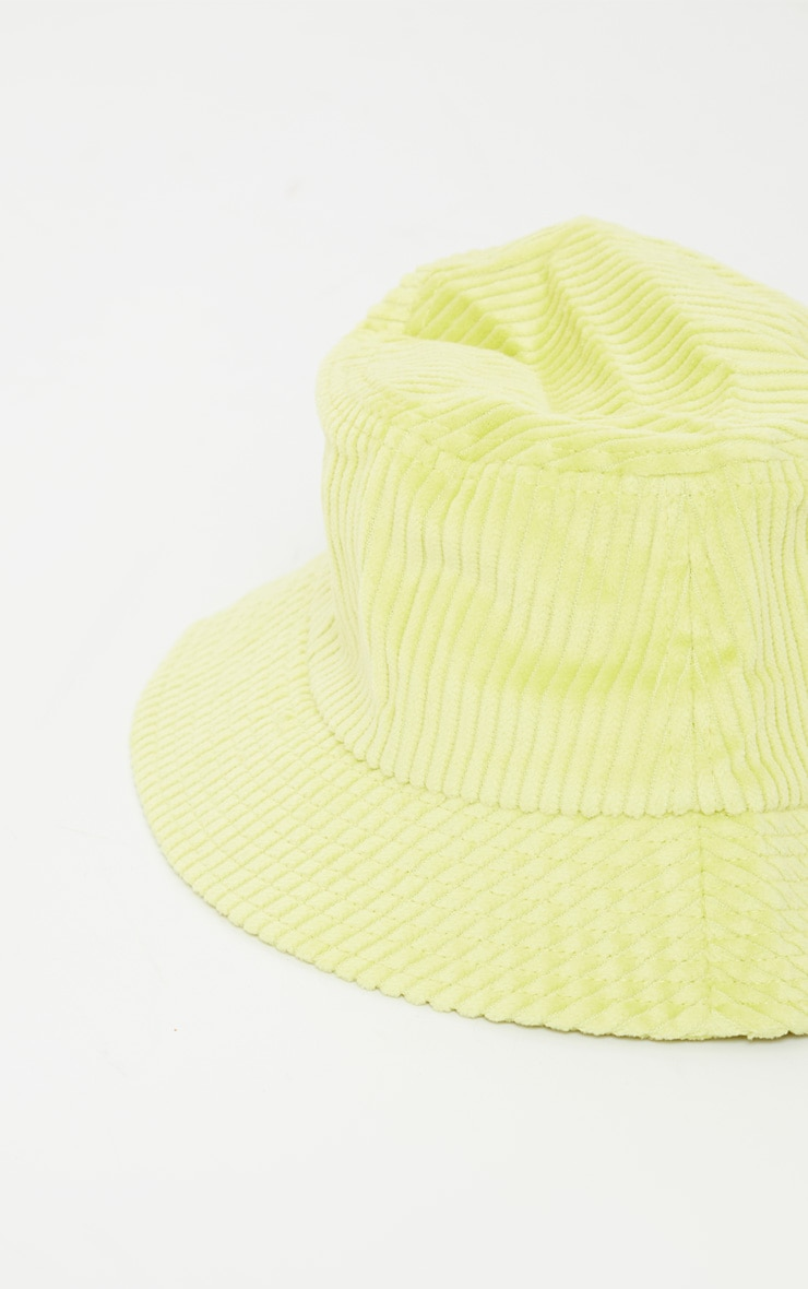 Lime Cord Bucket Hat 3